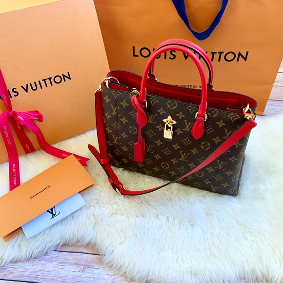860cf8eb3046 Louis Vuitton Monogram Coquelicot Flower Tote